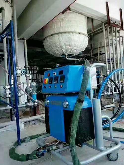 聚氨酯喷涂保温施工